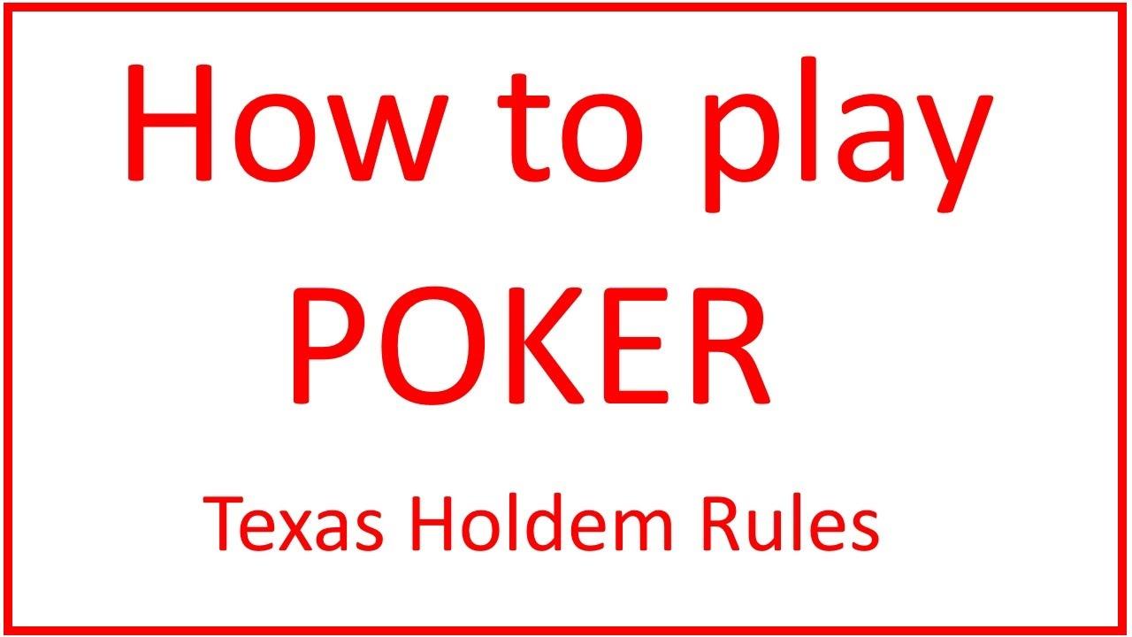 Poker Texas Hold'em : toutes les règles à connaître !