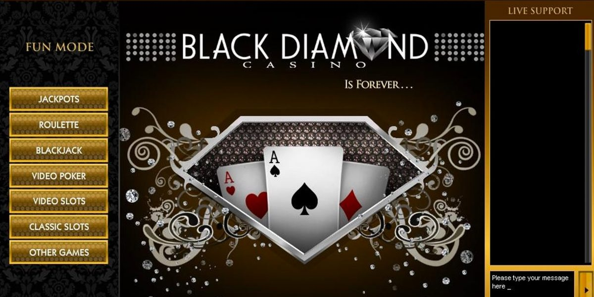 avis black diamond casino
