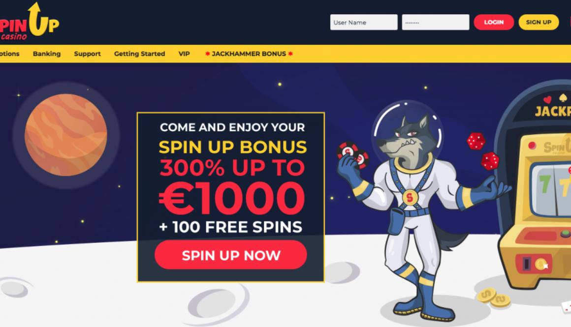avis spin up casino
