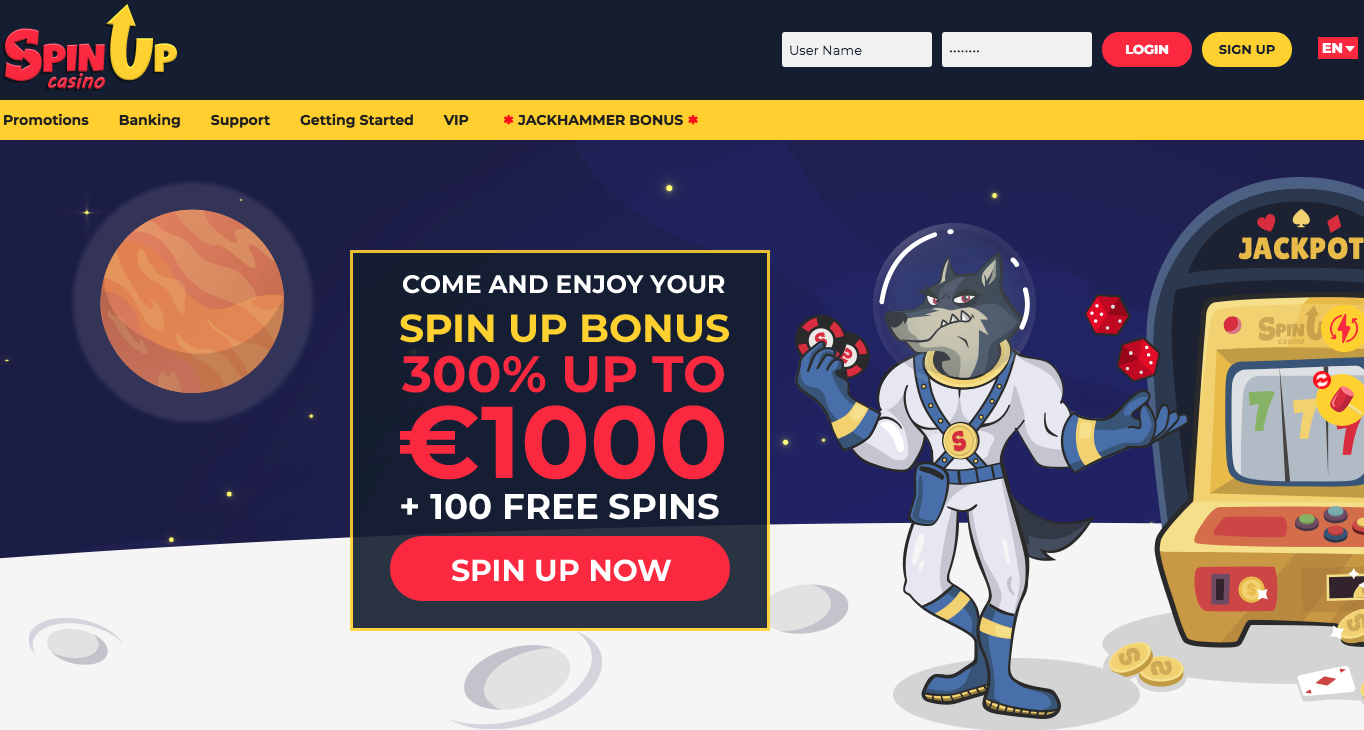 Avis Spin Up Casino : une escroquerie ou un bon plan ?