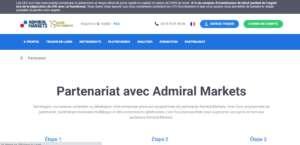 partenariat admiral markets